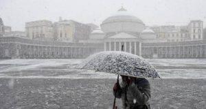 Neve a Napoli, situazione meteo per le prossime 24 ore