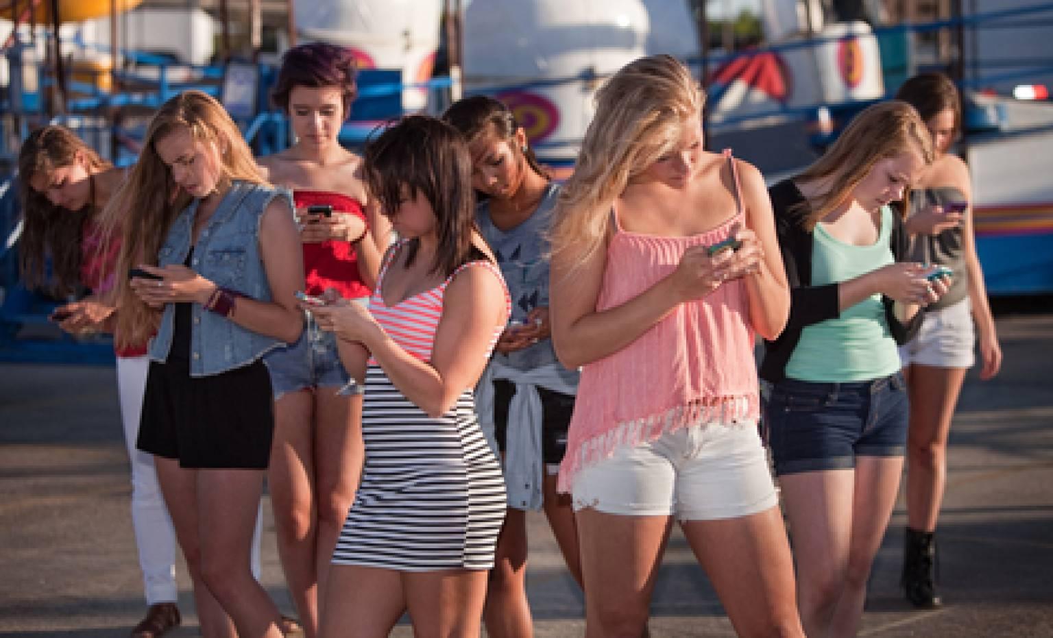Lo smartphone e i giovani