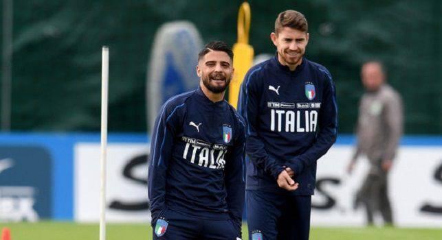 Insigne Jorginho Inghilterra-Italia