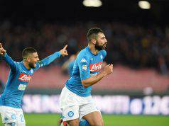 Albiol gol Napoli-Genoa