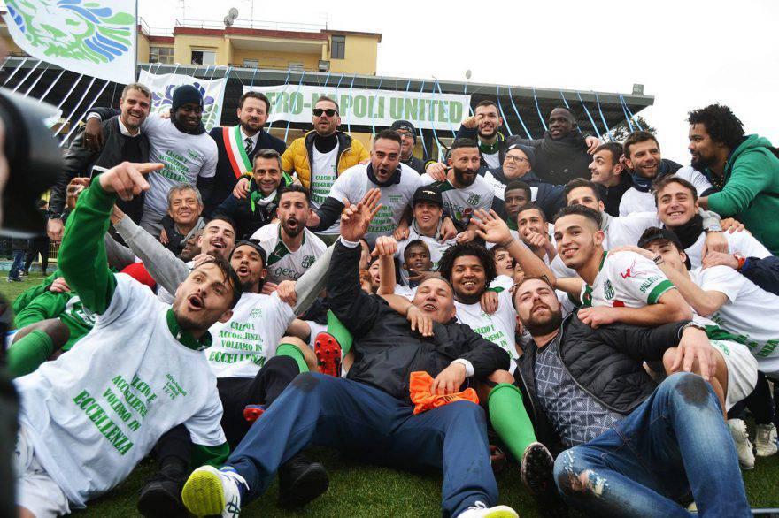 Afro Napoli promozione in Eccellenza