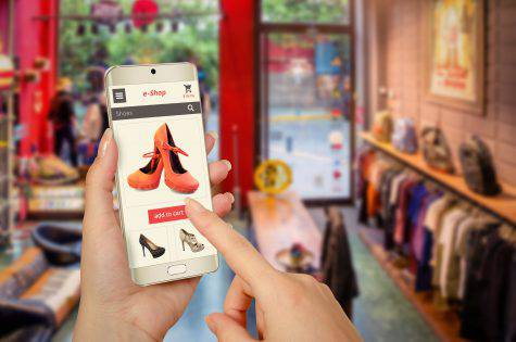 shopping online vendere Instagram social