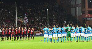 Napoli-Genoa formazioni