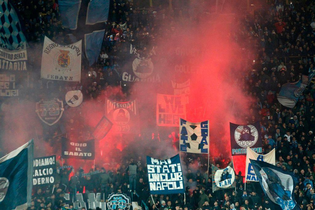 Tifosi Napoli Curva A
