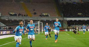 Napoli esulta Insigne