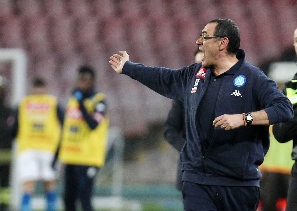 Sarri Inter-Napoli