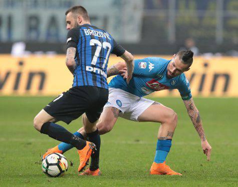 Hamsik Centrocampista Napoli Inter Napoli
