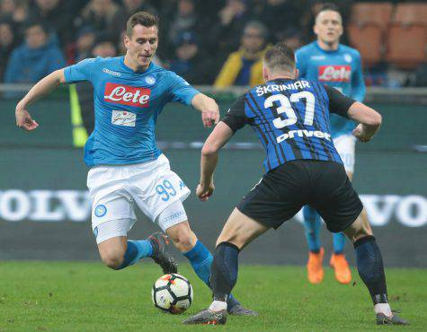Milik, Inter-Napoli © Getty Images