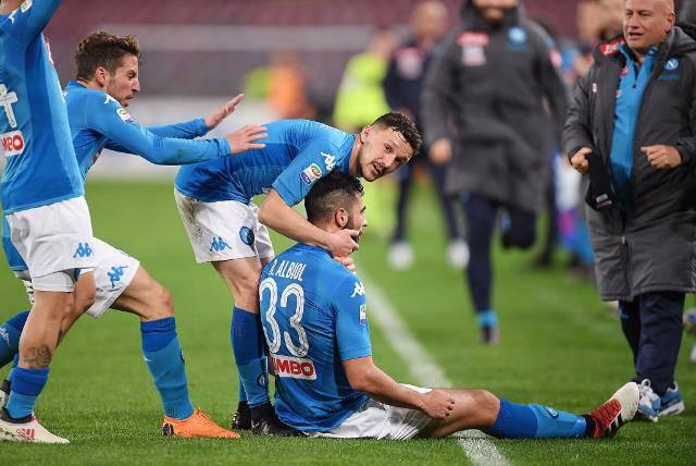 Raul Albiol Napoli-Genoa