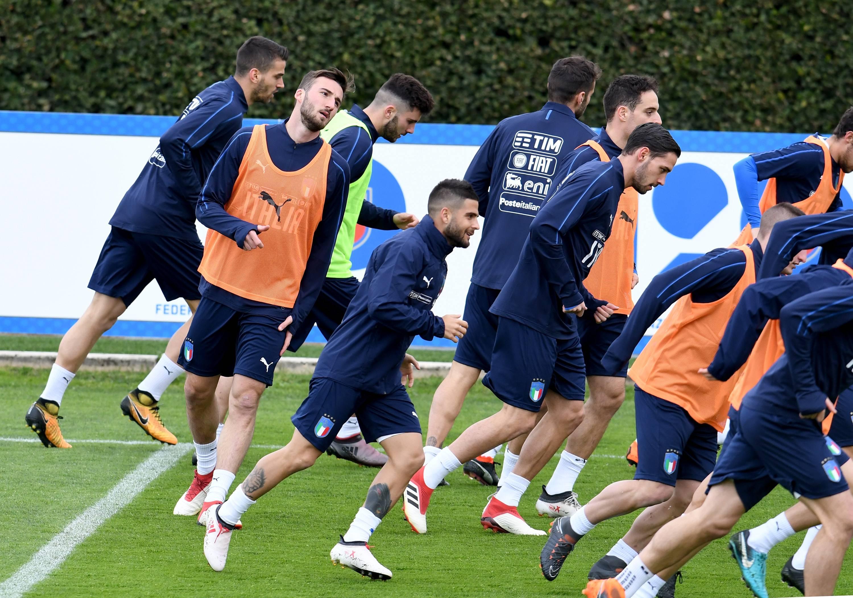 Argentina-Italia formazioni