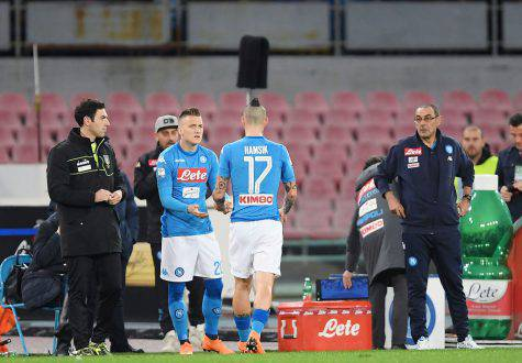 Hamsik infortunato