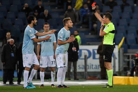 Lazio-Torino, Immobile espulso