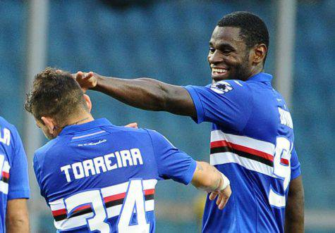 Lucas Torreira, Sampdoria Napoli