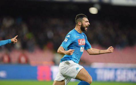 Raul Albiol padre futuro Napoli