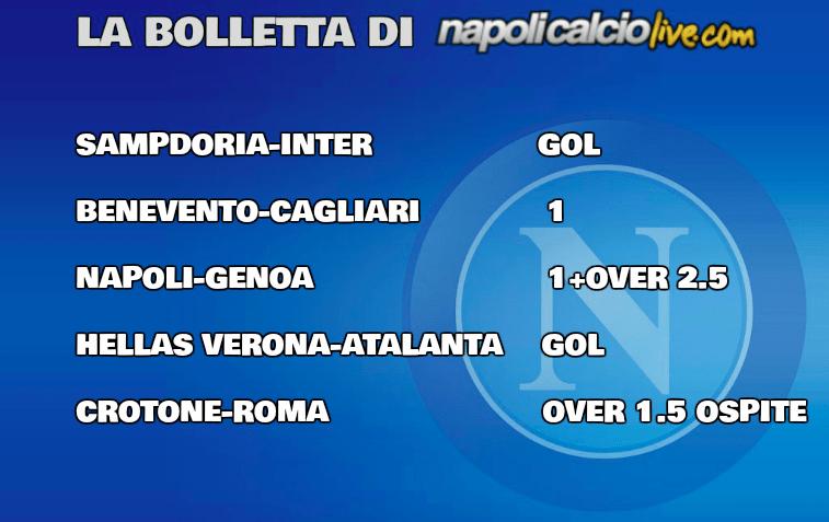 Pronostici Serie A 29/a giornata