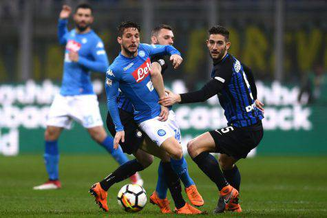 Mertens Inter Napoli ©Getty Images