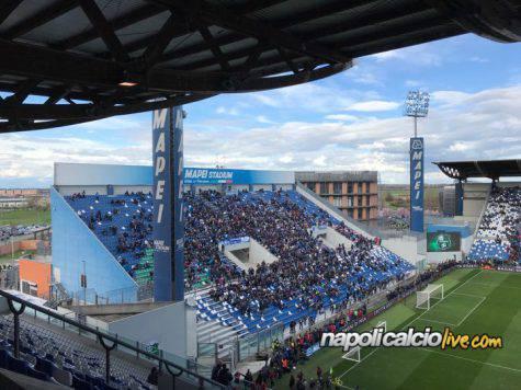 Sassuolo Napoli Mapei Stadium