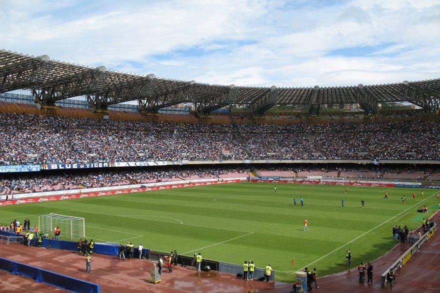 San Paolo - Supercoppa a Napoli