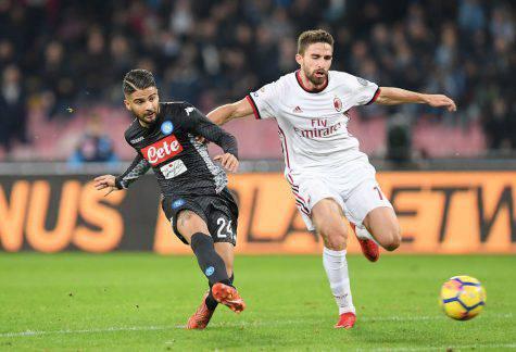 Milan-Napoli formazioni ufficiali