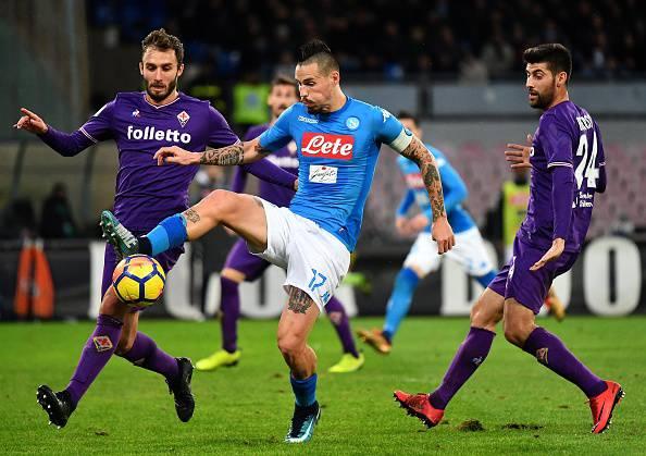 Fiorentina-Napoli partenza orario