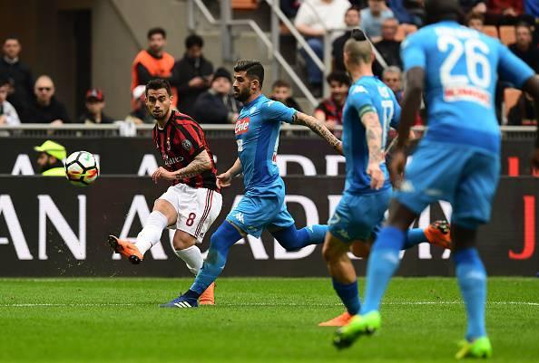 Milan-Napoli goal primo tempo
