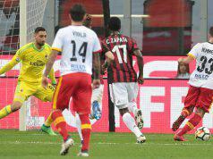 Milan-Benevento Serie A