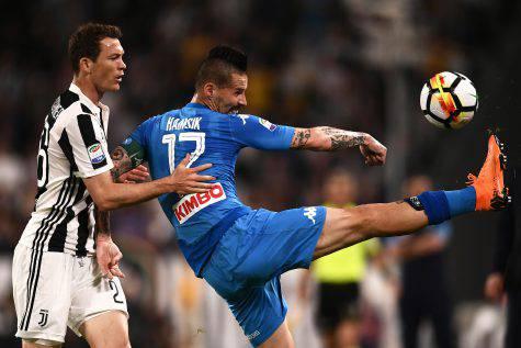 Juventus-Napoli, Marek Hamsik