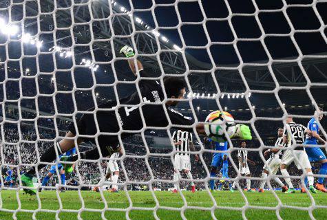 Koulibaly segna in Juventus-Napoli