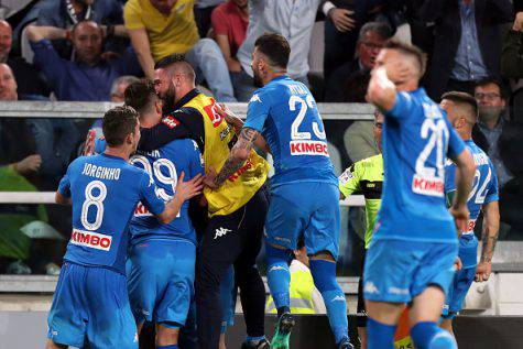 Juventus-Napoli vergogna tifosi