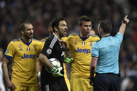 Real Madrid-Juventus, Buffon rischio squalifica