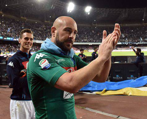 Reina addio Napoli