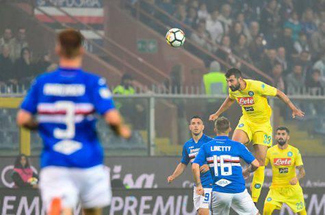 Albiol Sampdoria-Napoli