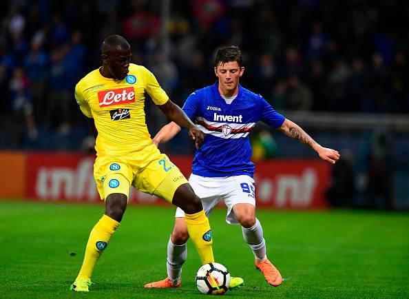 Koulibaly Sampdoria-Napoli