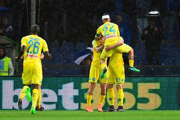 Sampdoria-Napoli cronaca tabellino