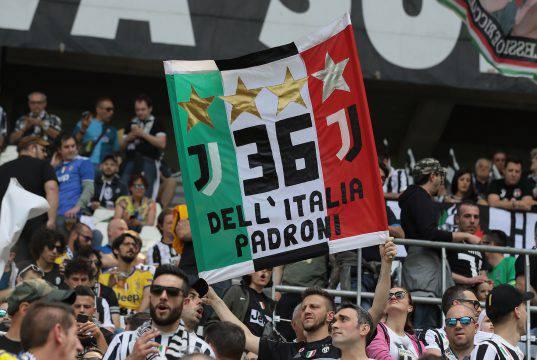 cori tifosi Juventus