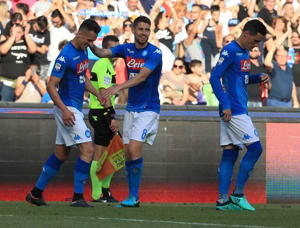 Napoli-Crotone pagelle primo tempo
