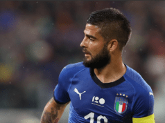 Formazioni ufficiali Italia-Portogallo