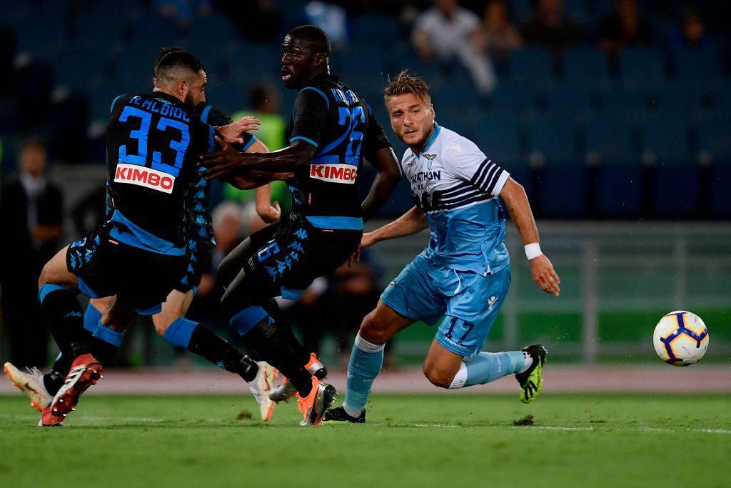 Immobile Lazio Napoli