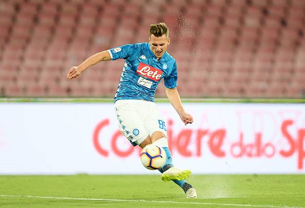 Napoli-Liverpool probabili formazioni milik