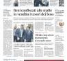 Il Mattino di Napoli Prima Pagina 23 settembre 2018