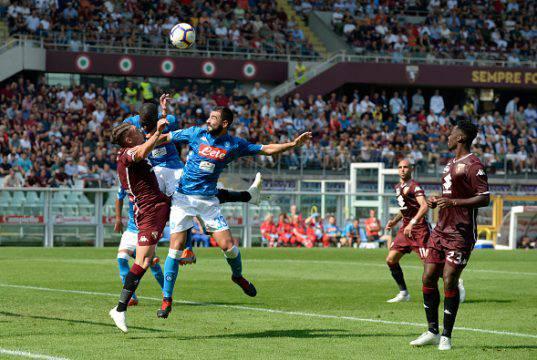 Koulibaly Hysaj Belotti Torino-Napoli