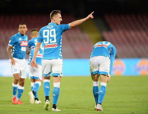 Formazioni ufficiali Genoa-Napoli