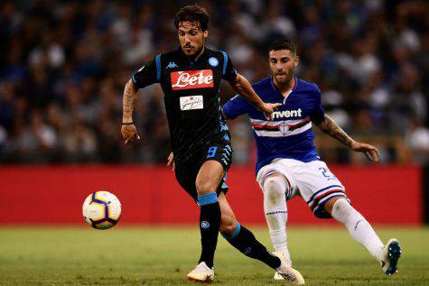 Verdi Samp-Napoli attaccante Napoli