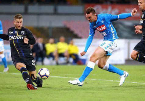 Napoli-Roma Fabian Ruiz