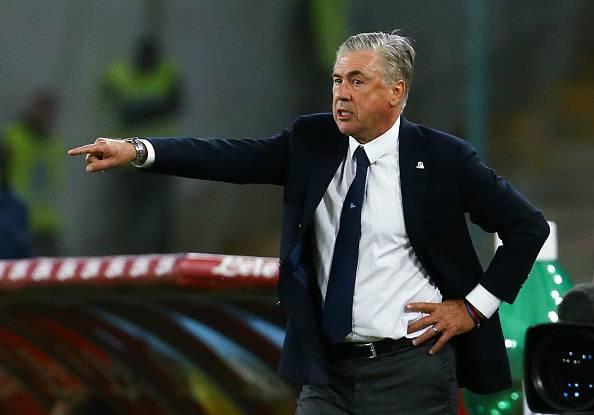 Ancelotti dopo Napoli-Parma