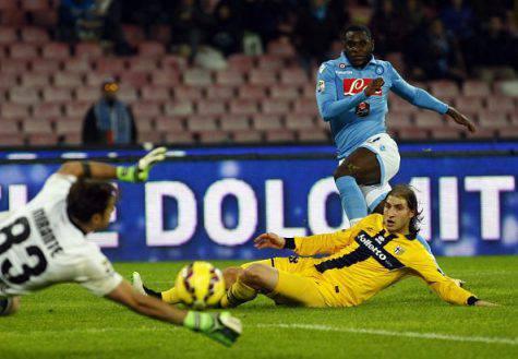 Napoli-Parma 2014