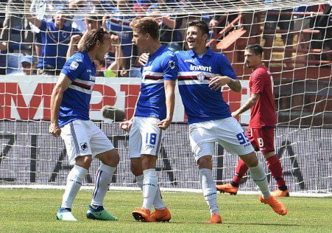 Indisponibili Sampdoria-Napoli