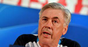 ancelotti conferenza champions