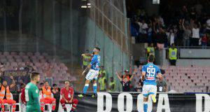 Insigne gol Napoli