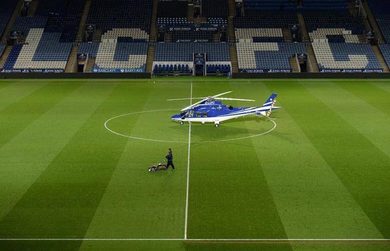 leicester elicottero incidente
